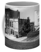 Alton Street In Black And White  Coffee Mug
