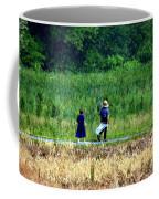 Amish Brother And Sister Coffee Mug