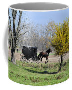 Amish Buggy Late Fall Coffee Mug