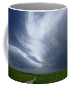 An Afternoon Thunderstorm Coming Coffee Mug by Jim Richardson