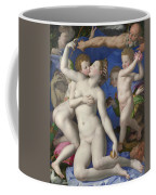 An Allegory With Venus And Cupid Coffee Mug