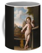 An Angel Holding A Guitar Coffee Mug