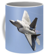 An F-22a Raptor Of The U.s. Air Force Coffee Mug