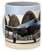 An F-35 Lightning II Taxiing At Eglin Coffee Mug