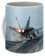 An Fa-18 Hornet Launches Coffee Mug