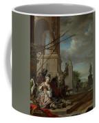 An Italian Courtyard Coffee Mug