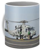 An Mh-60r Seahawk Embarked Aboard Uss Coffee Mug