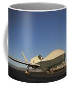 An Rq-4 Global Hawk Unmanned Aerial Coffee Mug