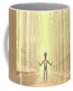 Ancient Alien Angel Coffee Mug