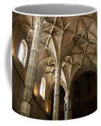 Lisbon Cathedral's Ancient Arches  Coffee Mug