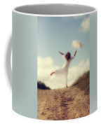 Angel With Parasol Coffee Mug