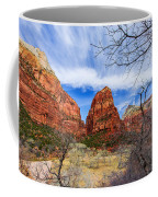 Angels Landing Coffee Mug by Chad Dutson