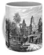 Angkor Wat, Cambodia, 1868 Coffee Mug