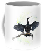 Anhinga Bird Coffee Mug