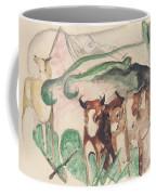 Animals In A Landscape Coffee Mug