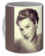 Anne Baxter, Vintage Actress Coffee Mug