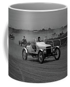 Antique Races Black And White Coffee Mug