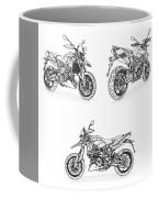 Aprilia Smv 900 Dorsoduro Drawing Coffee Mug