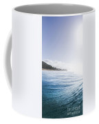 Aqua Ramp - Triptych Part 2 Of 3. Coffee Mug