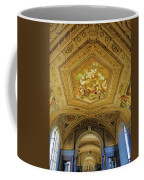 Architectural Artistry Within The Vatican Museum In The Vatican City Coffee Mug