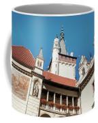 Architecture Details Of Pruhonice Castle Coffee Mug