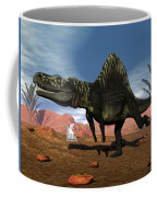 Arizonasaurus Dinosaur - 3d Render Coffee Mug