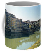 Arno River In Florence Italy Coffee Mug