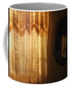 Art Homage Edward Hopper Winter Light  Window Curtain Reflection Bedroom Casa Grande Arizona 2005  Coffee Mug