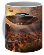 Artists Concept Of Stealth Technology Coffee Mug by Mark Stevenson