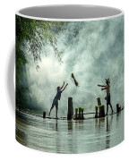 Asian Farmers Earn Rice Fields Coffee Mug
