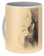 "At The Renaissance: Sarah Bernhardt In ""phedre"" (a La Renaissance: Sarah Bernhardt Dans ""ph?dre"") Coffee Mug"