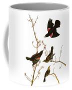 Audubon: Blackbird, (1827) Coffee Mug