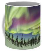 Aurora Borealis Over Churchill Coffee Mug