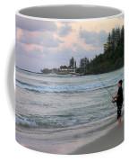 Australia - Fisherman At Greenmount Beach Coffee Mug
