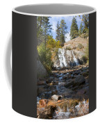 Autumn At Helen Hunt Falls Colorado Coffee Mug