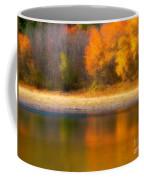 Autumn At Sawmill Lake Coffee Mug