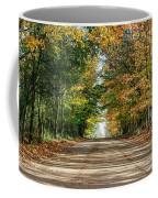 Autumn Backroad  Coffee Mug