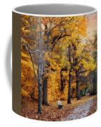 Autumn By The River Coffee Mug