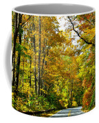 Autumn Drive No.2 Coffee Mug