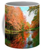 Autumn On The Mersey River, Kejimkujik National Park, Nova Scotia, Canada Coffee Mug