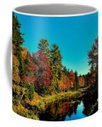 Autumn Splendor On The Moose River Coffee Mug