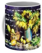 Autumn Sunflowers Coffee Mug
