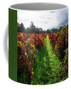 Autumn Vineyard In The Morning  Coffee Mug