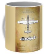 Avro Lancaster Bomber Coffee Mug