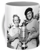 Patty Berg And Babe Didrikson Coffee Mug