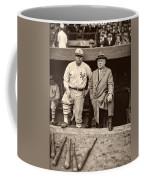 Babe Ruth And John Mcgraw Coffee Mug