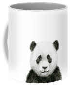 Baby Panda Watercolor Coffee Mug