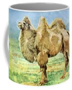 Bactrian Camel, Endangered Species Coffee Mug