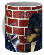 Bad Doggies... Coffee Mug by Will Bullas