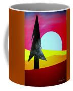 Autumn Moon Rise Coffee Mug